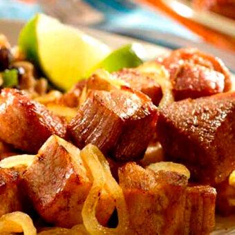 Masas de Cerdo Frita